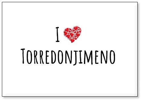 Mundus Souvenirs - Amo Torredonjimeno, Imán para Nevera (diseño 2)
