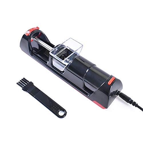 CLNAONG Machine à Cigarettes, 8 mm Slim Rouler Une Cigarette Machines électriques Tube électronique Tabac Joint Making Machine de Remplissage de Fumer