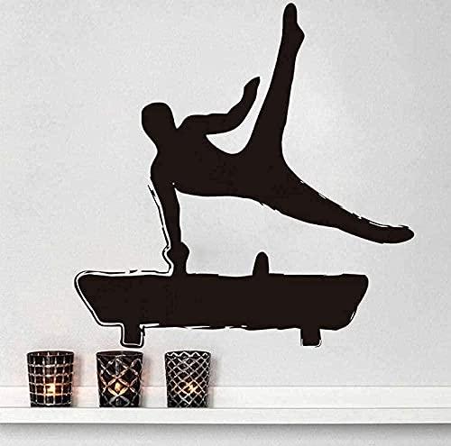 TJVXN Estudio de Arte Creativo calcomanía de Pared Vinilo con Arcos Caballo Artista decoración del hogar calcomanía Mural Deportivo habitación de los niños 44Cm X 44Cm