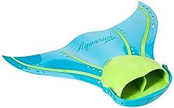 Finis Erwachsene Aquarius Fin Tropical Teal Mermaid Swim, 36-43