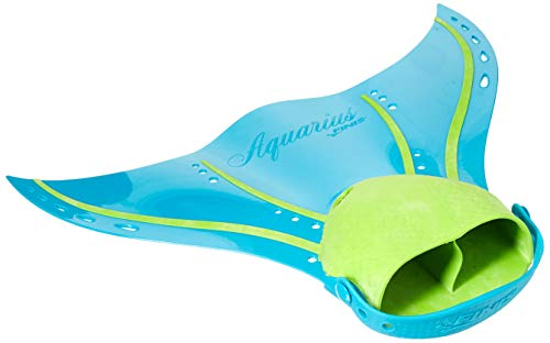 Finis Erwachsene Aquarius Fin Tropical Teal Mermaid Swim, 36-43