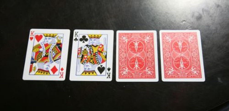 Bicycle Parade Of Kings Zaubertrick - Card Trick For Magicians B005VQR6PU Garantiere Qualität und Quantität    | Verpackungsvielfalt