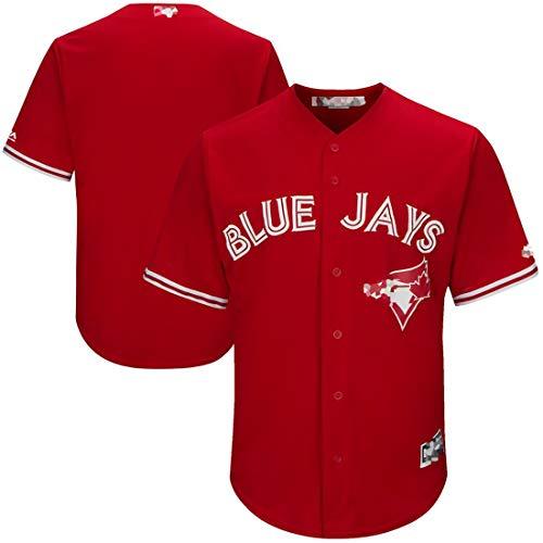 Las camisetas de béisbol personalizadas, las camisetas deportivas y las camisetas (masculinas, femeninas, juveniles) se pueden personalizar con la camiseta de los fanáticos de los Blue Jays con cual