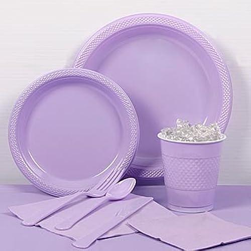 alto descuento Lavender Lavender Lavender Plastic PartyPack For 20 by Shindigz  bienvenido a elegir