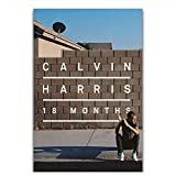Album Calvin Harris 18 Monate Dj Music Star Wandkunst