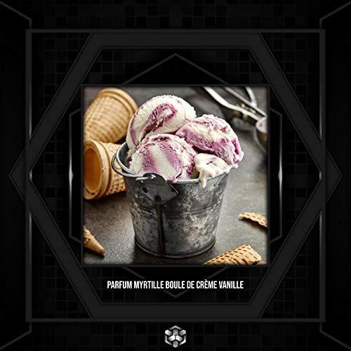 Parfum Myrtille Boule de crème Vanille