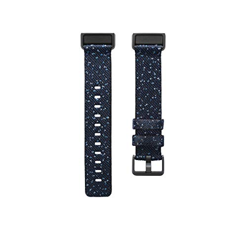 Fitbit(フィットビット) Charge 4 Woven Band Midnight S FB168WBNVBKS