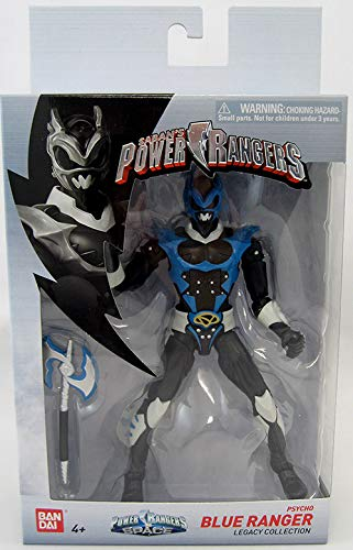 Power Rangers Legacy-in Space Psycho Blue Ranger Action Figure