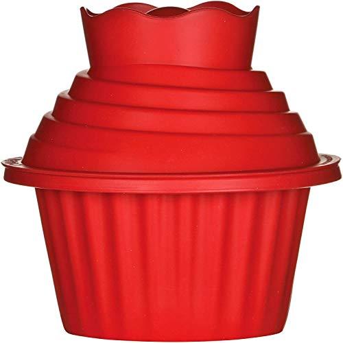 Cupcake Mould Silicone - WENTS Gigantische Cupcake-Form Muffinförmchen Riesen-Muffin Cupcake Riesen muffin backform 3pcs
