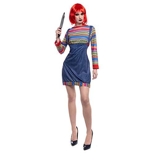 Partilandia Disfraz Muñeca Asesina para Mujer (S)