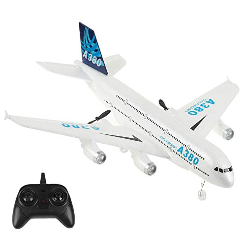 Remote Control Airplane, iHobby RC Plane Ready to Fly, 2.4Ghz 2 Channel RC Aircraft Built in 3-Axis Gyroscope, Durable EPP Styrofoam Remote Control Plane for Kids Boys Girls Beginner