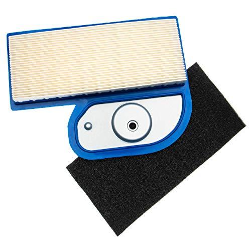 vhbw Filterset (1x Luftfilter, 1x Vorfilter) Ersatz für Gravely MIU10955 für Rasentraktor, Aufsitzmäher