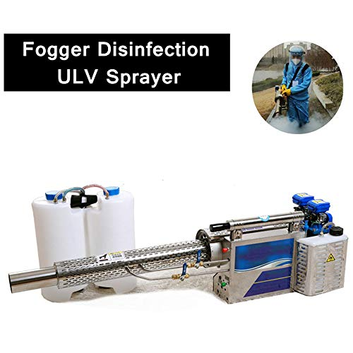 16L Portable Thermal Fogger Sprayer, Pulse Fuel Gasoline Water Mist Smoke Fog Sprayer for Public Places with Weed Plants