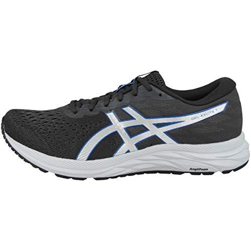 Asics Gel Excite 7 Hombre Zapatillas Deportivas para Correr Gris/Azul EUR 40,5