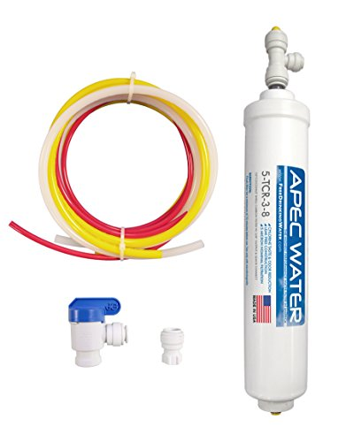 """APEC Water Systems 3/8"""" Output Quicker Dispense Upgrade Kit for Under Sink System (3-8-OUTPUT-KIT)"""