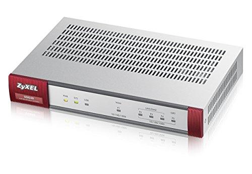 Zyxel ZyWALL 400 Mbit/s UTM-Firewall, empfohlen für bis zu 25 Benutzer  (IPsec, SSL) - Nur Hardware [USG40]