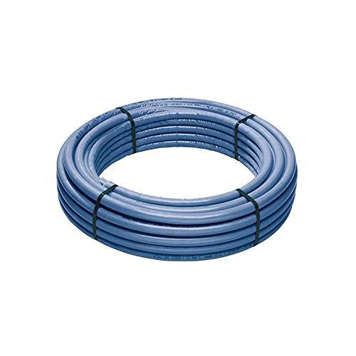 GEORG FISCHER Tubazione Multistrato Coibentato Alupex Acqua Sanitaria PE-XC/al/PE-Xb Diametro 20 - Rotolo da 50 MT