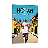 EWRW Hoi An Vietnam, Retro-Vintage-Reise-Poster, Leinwand,