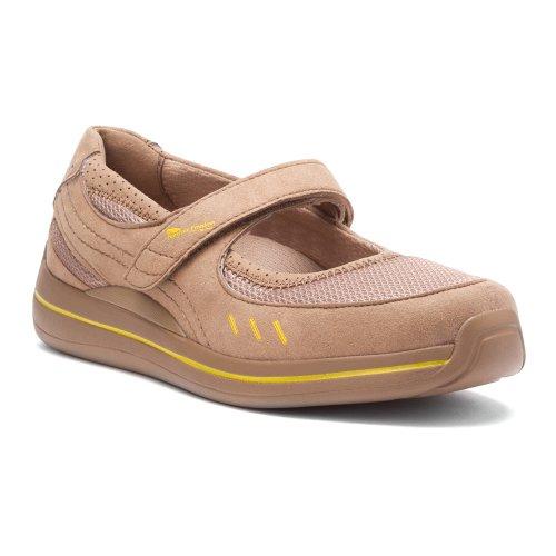 Drew Shoe Women's Bailey Beige Mary Janes 6.5 M
