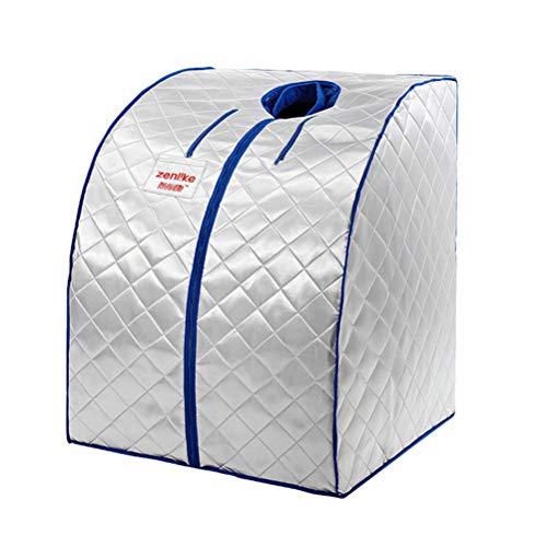 1 set 4e generatie draagbaar huishouden brede infrarood droog sauna stoomgarage voor lichaamsspa-behandeling en indoor gezondheid indoor opvouwbaar zweetdamptent, zweetdamptent, ac220/50Hz/1000W