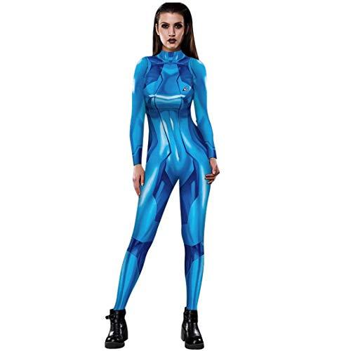 Women's Zero Suit Samus Cosplay Costume Aran Metriod Costumes...