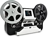 Jancane Super 8/8mm Film Scanner, ConvertsConvert 3 inch and 5 inch 8mm Super 8 Film reels into Digital Video