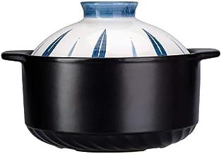 Praktisch Casserole-gerechten braadpan gerechten keramische klei pot rijst braadpan, braadpan schotels open vuur speciale,...