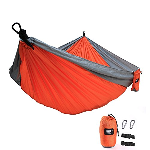 arancione Amaca doppia da campeggio Basics leggera