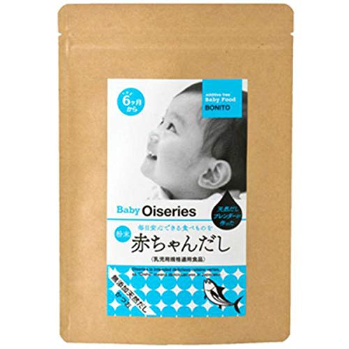 赤ちゃんだし 6か月から 無添加 食塩不使用 離乳食だし 乳児用規格適用食品