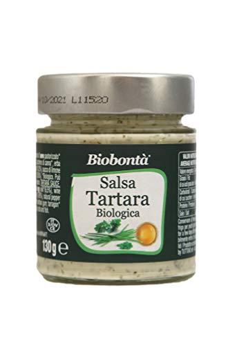 Salsa tártara orgánica, hecha a mano en Italia, sin gluten ni lactosa. Excelente con pollo y carnes a la parrilla, pescado y verduras al vapor.