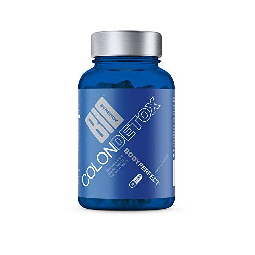 Biosynergy Colon Detox Remove Toxins Increase Energy Lose Weight Vegn Capsules 60g