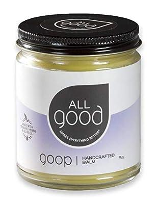 All Good Goop - Organic Skin Relief Balm & Ointment w/Calendula for Dry Skin, Scars, Eczema, Diaper Rash, Bug Bites, Burns, Chapped Lips - Safe for Baby & Sensitive Skin(9 oz)