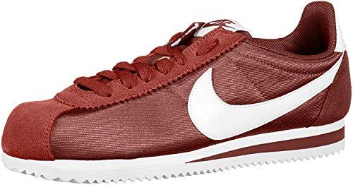 Nike Damen WMNS Classic Cortez Nylon Laufschuhe, Mehrfarbig (Red Sepia/White 203), 38 EU