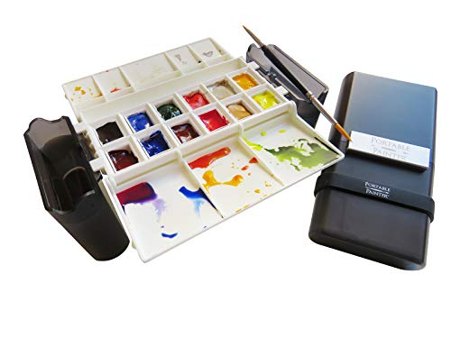 Watercolor Palette by Portable Painter, Travel - Pocket Size...