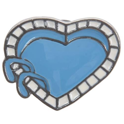 Fltaheroo Pin Broche Corazon Pin del Esmalte del Barco De Origami Broche De Insignia Pin De La Solapa Joyas De Dibujos Animado De Cuello De Camisa De Mezclilla Regalo Chico Amigo Xz1736