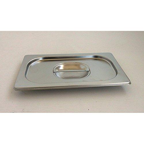 AISI10 65 Millim/ètres L650 X 530 Millim/ètres Bac Gastronorme Inox Gn 2//1