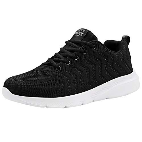 catmoew Herren Sneakers Laufschuhe Turnschuhe Mesh rutschfest Sportschuhe Atmungsaktiv Mode Schuhe Fitness straßenlaufschuhe Bequem Verschleißfest Keine Verformung
