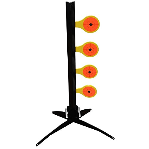 Birchwood Casey USA World of Targets .22 Rimfire Dueling Tree Stand Yellow