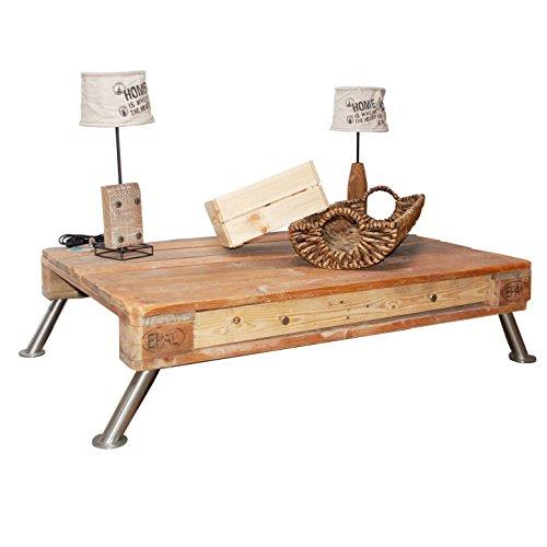 Palettenmöbel Couchtisch, Beistelltisch, TV-Board Maximilian, Neuholz gebeizt in klassischer Paletten Optik, jedes Teil ist einzigartig und Wird in Deutschland in Handarbeit gefertigt