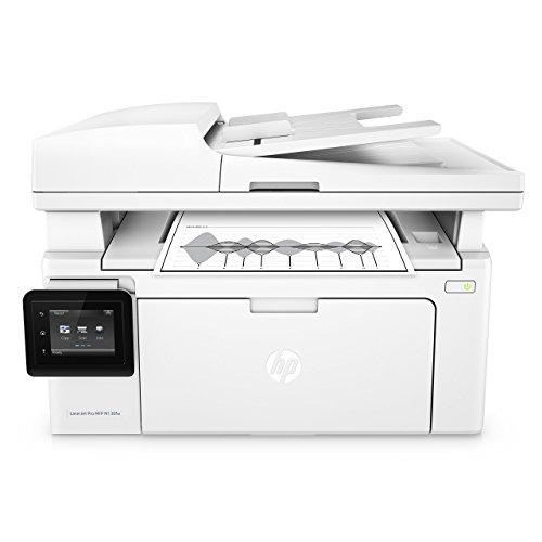 HP M130FW LaserJet Pro Stampante Multifunzione Monocromatica, Wireless, Bianco