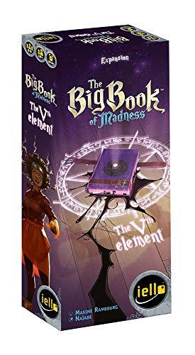 Iello Big Book of Madness 51372 The Vth Element - Juego de Cartas (en inglés)