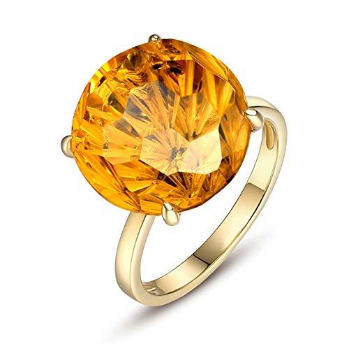 Aimsie Women's 18 Carat 18 Carat (750) Yellow Gold Wedding Ring Gold Ring 750 Yellow Gold