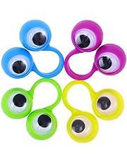 jojofuny 12 sztuk mini lalek z palcami dla niemowląt, dzieci i małych dzieci (przypadkowy kolor)