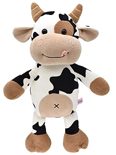 Cute Stuffed Animals Doll , 16'' Soft Plush Cow Toy Gifts for Kids , Toddler , Birthday , Valentines , Christmas