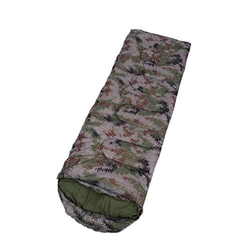 Générique Sac de Couchage pour Adulte en Coton 15~5 degrés Enveloppe de Style Camouflage Chaud imperméable Voyage à Capuche Sac de Couchage Nemo, CT0522SM