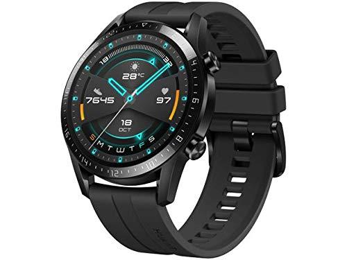 "Smartwatch Huawei GT 2 46MM 2019, Bluetooth 5.1, Tela 1,39"" Amoled 454x454 HD (Preto)"