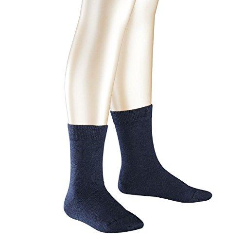 Falke Kinder Socken Family 3er Pack, Größe:31-34;Farbe:Navyblue Melange (6490)
