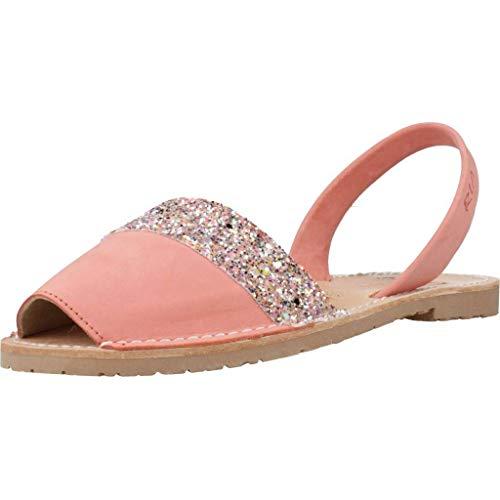 ria menorca Damen Sandalen Sandaletten 27055 S2 Pink 36 EU