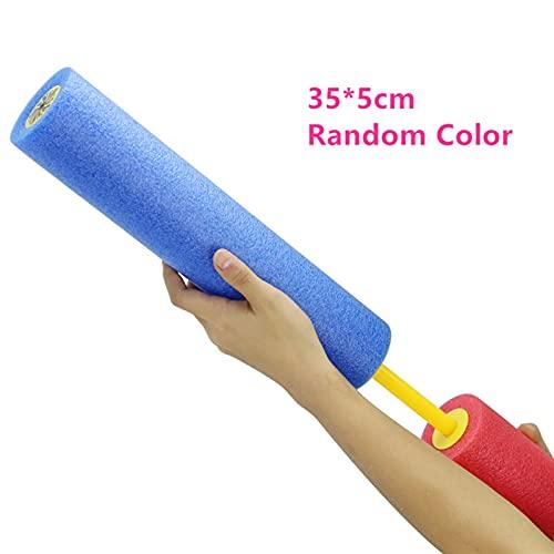YANLINMY Wasserpistole Water Gun Kids Summer Eva Foam Squirt Strand Spielzeug Spray Pistole Waterpistool Kinder Outdoor Games Watergun Cannon Shoot Spielzeug Geschenk ( Color : 35X5cm )