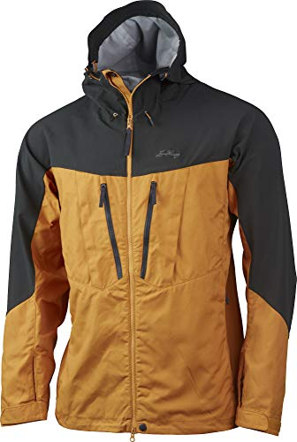 Lundhags Makke Pro Jacket Men, Gold/Charcoal Modèle M 2020 Veste